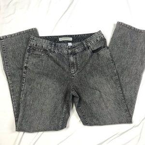 Chico's Premium Denim Women's Acid Wash Jeans